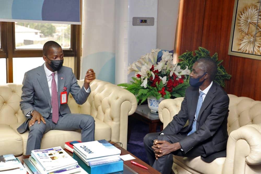 EFCC Boss visits NDIC 2