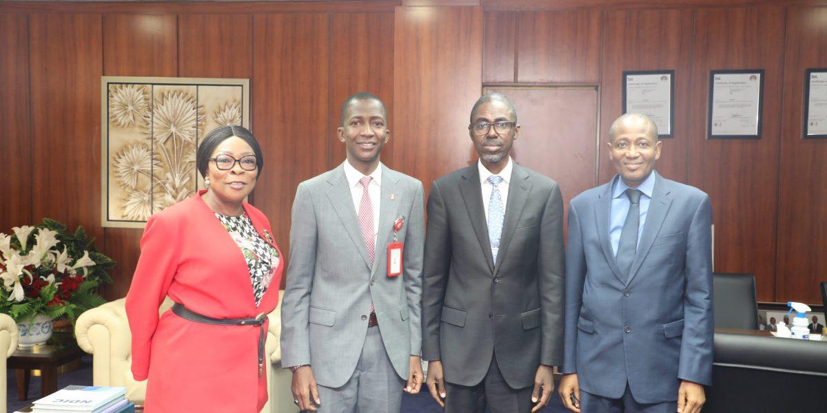 EFFC Boss Visits NDIC
